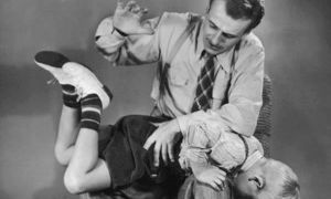 Шлепки по попе — психология