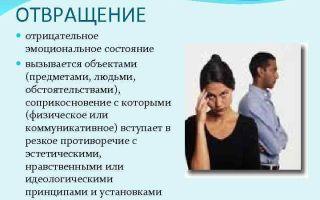 Брезгливость — психология