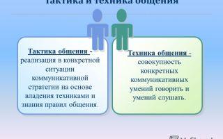 Тактики воспитания — психология