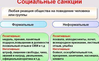 Санкции: естественные социальные последствия — психология