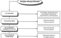 Виды мышления в психологии — описывающие характеристики