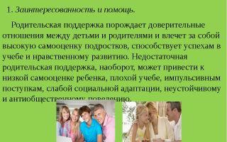 Игнорирование указаний родителя (подросток) — психология