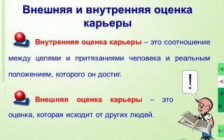 Внешняя оценка — психология