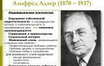Альфред адлер — психология