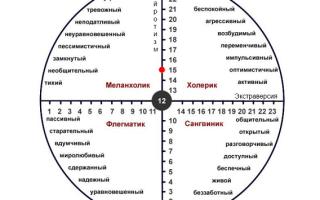 Тест «тип вашего темперамента» — психология