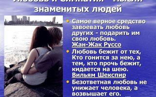 Любовь и привязанность — психология