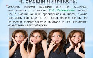 Переживание и тип личности — психология