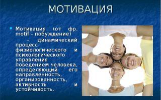 Динамические мотиваторы — психология