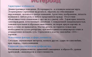 Истероид и дружба — психология