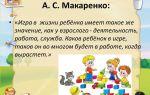 Игра в жизни ребенка — психология