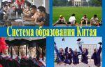 Китай система образования — психология